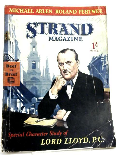 Geological Magazine: March, 1939. by Rastall, R. H. & O. M. B. Bulman (edits).