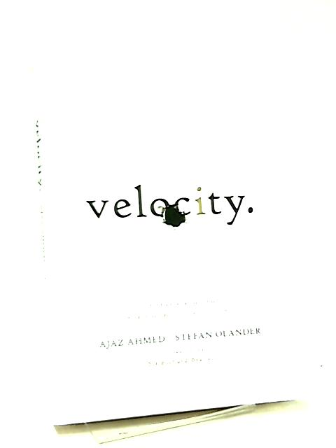Velocity, The Seven New Laws for a World Gone Digital by Ajaz Ahmed