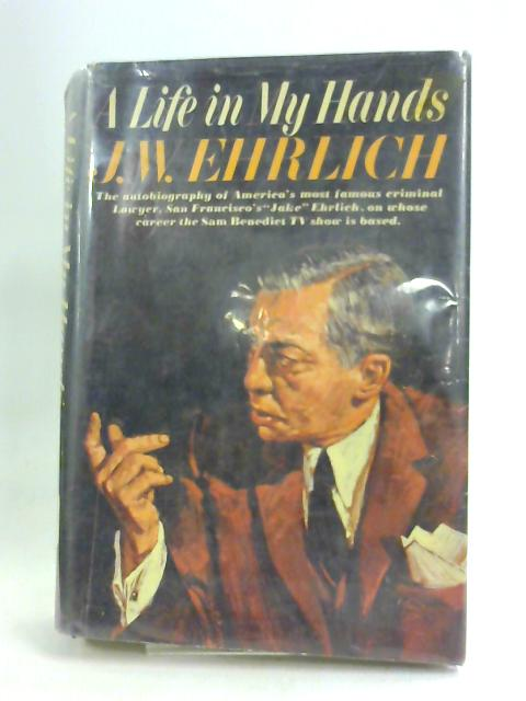 A Life in My Hands by J. W. Ehrlich