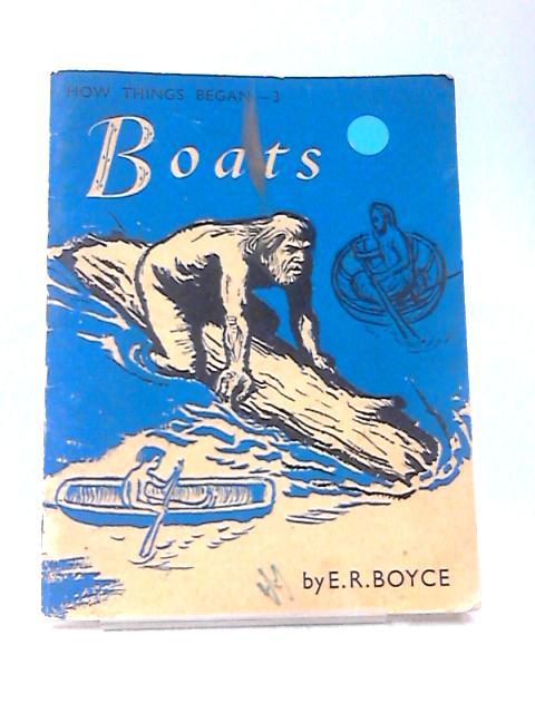 Boats (no.3) by E. R Boyce