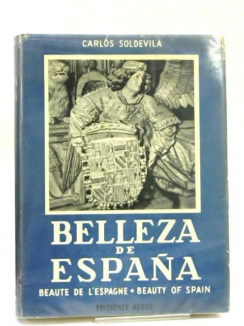 Belleza de España by Carlos Soldevila