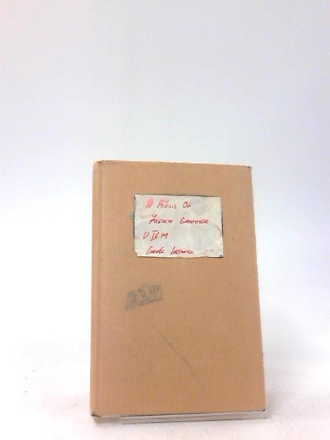 A Precis of French Grammar by Travis, J.E.