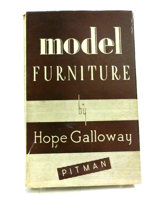 Model Furniture by Hope Galloway.