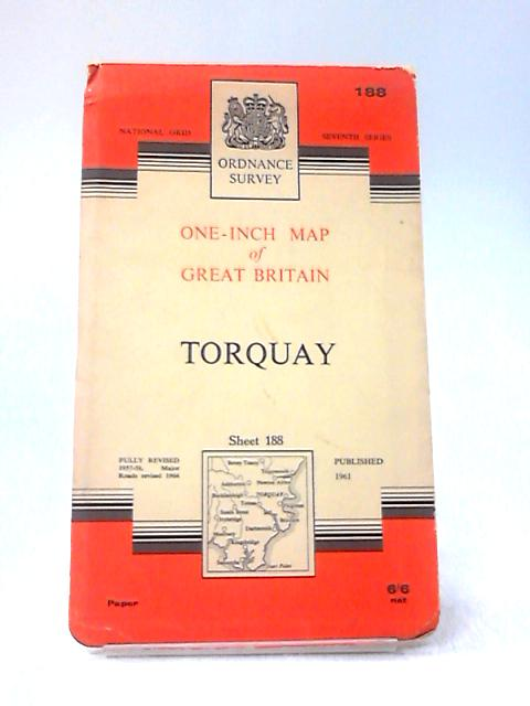 One-Inch Map of Great Britain - Torquay by Ordnance Survey