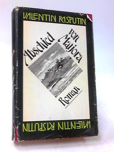 Abschied von Matjora Roman by Valentin Rasputin