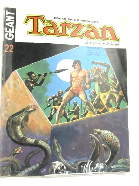 Geant Tarzan 22- in French by Edgar Rice Burroughs