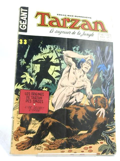 Geant Tarzan -33- in French by Edgar Rice Burroughs