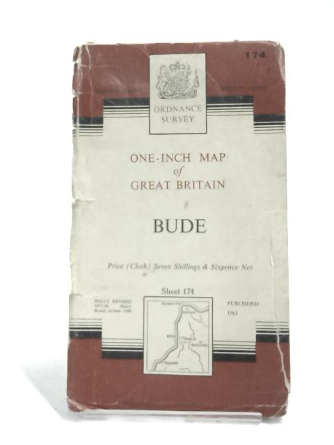 Ordnance Survey Map Of Bude : Sheet 174 by Anon