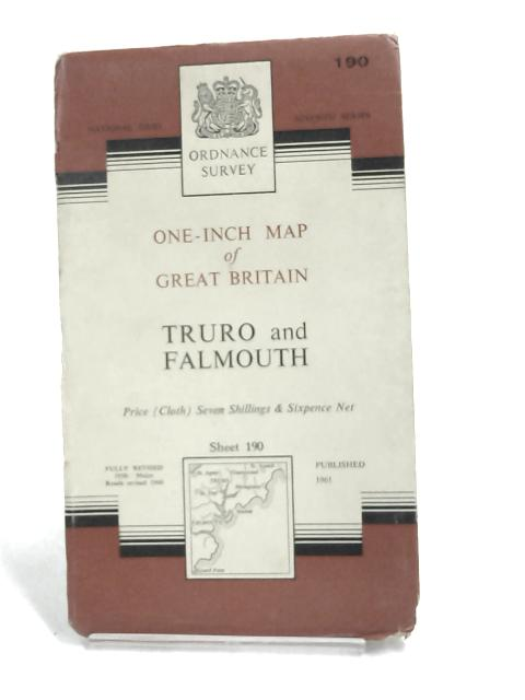 Ordnance Survey One-inch map of Truro and Falmouth- by Ordnance Survey
