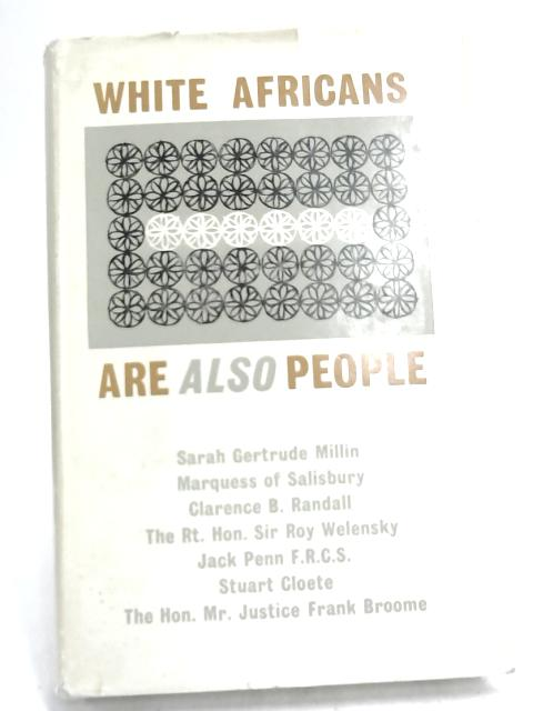 White Africans Are Also People. by Various