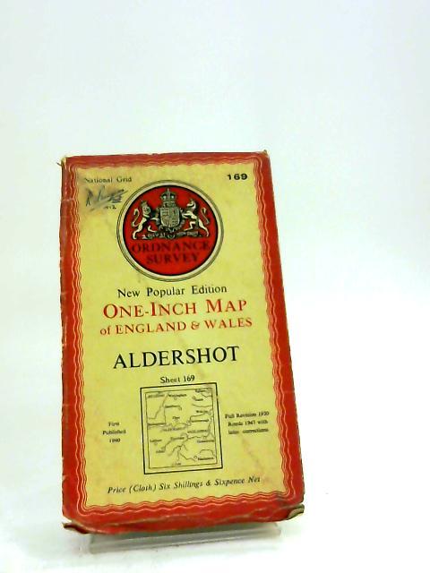 Ordnance Survey One-Inch Map Of Aldershot: Sheet 169 by Ordnance Survey One-Inch Map Of Aldershot