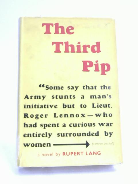 The Third Pip by Rupert Lang