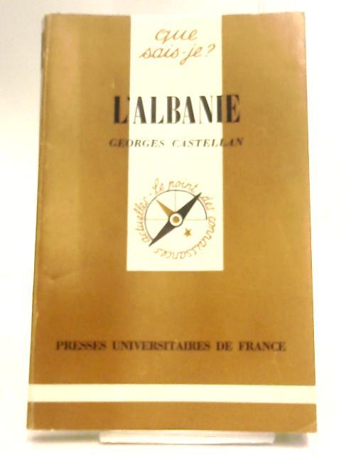 L'Albanie by Castellan, Georges