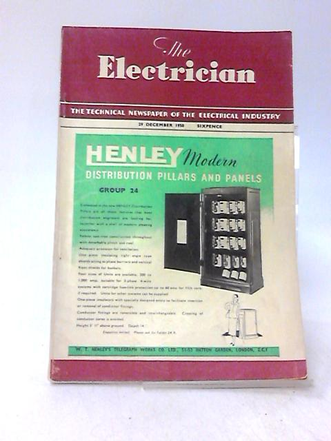 The Electrician, 29 December 1950, Volume CXLV, No. 26 by Stanley Rattee