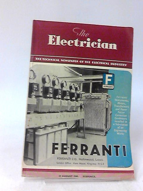 The Electrician, 19 August 1949, Volume CXLIII, No. 8 by Stanley Rattee