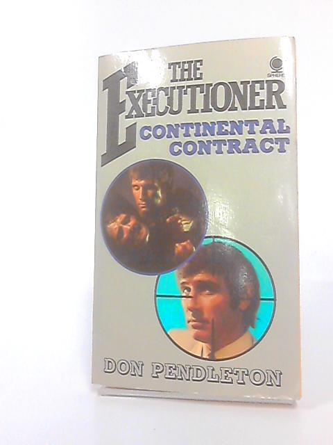 Executioner Continental Contract By Pendleton, Don
