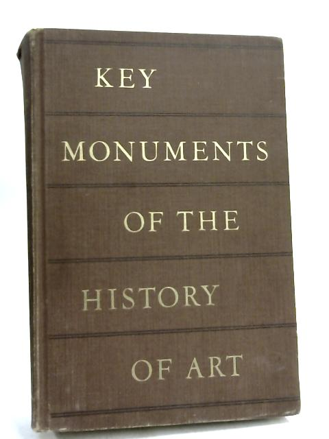 Key Monuments Of The History Of Art- by H W Janson,