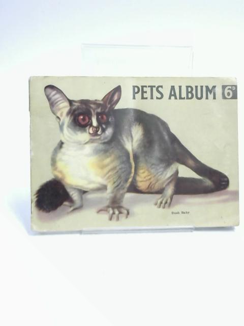 Pets Album- 50 Picture Cards By Horniman's- by Maxwell Knight