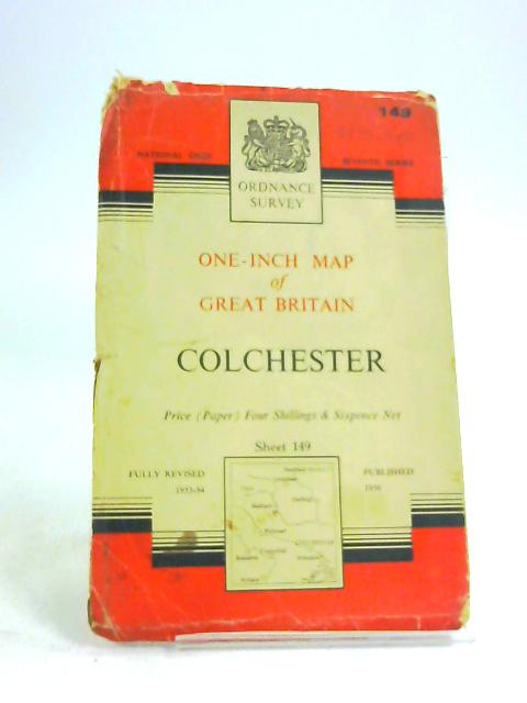 One inch map of great Britain Colchester sheet 149 by Unknown