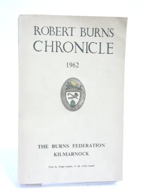 Robert Burns Chronicle- by Burns Federation