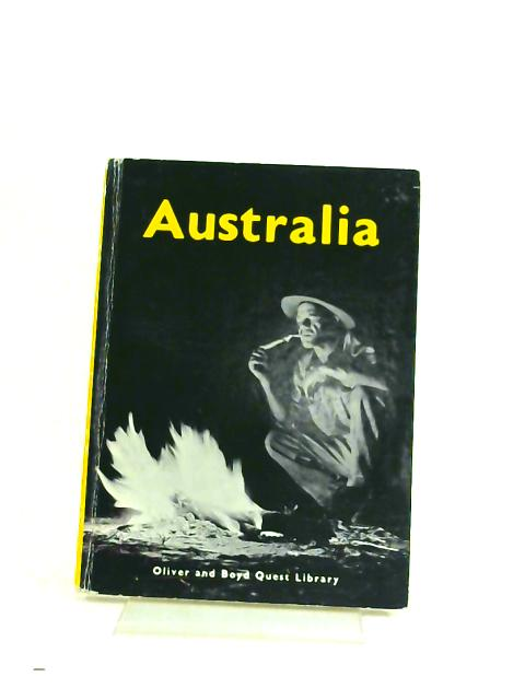 Australia (Quest library) by Arthur Elliott-Cannon,