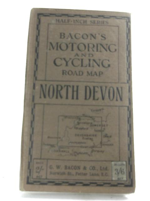 Bacon's Motoring & Cycling Map - South Devon. by GW Bacon