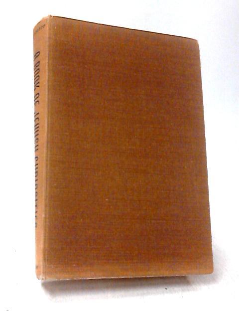 A Book of Jewish Curiosities By David M. Hausdorff