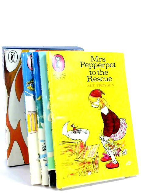 The Adventures of Mrs Pepperpot - Box Set Containing Mrs Pepperpot To The Rescue, Mrs Pepperpot In The Magic Wood, Mrs Pepperpot's Outing, Little Old Mrs Pepperpot by Alf Proysen