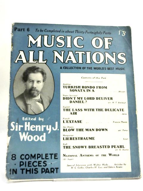 Music of All Nations Part 6 By Sir Henry Wood