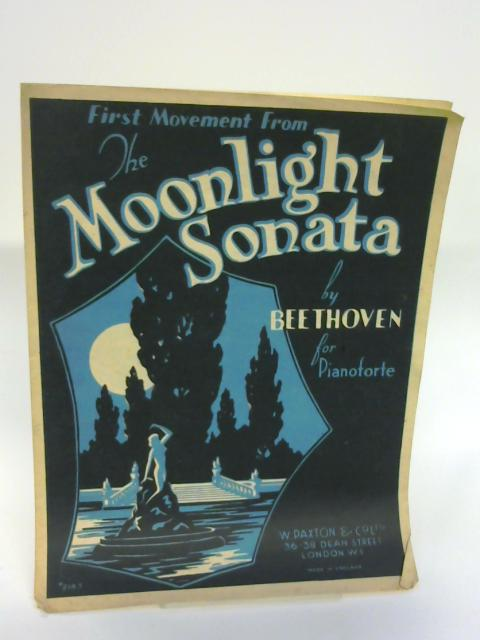 Beethoven: Moonlight Sonata (1st Movement) - By Beethoven