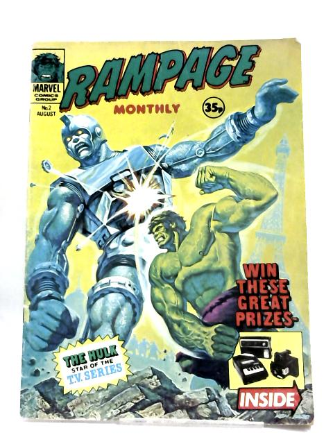 Rampage Monthly No 2 Aug. 1977 by Anon