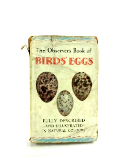 The Observer's Book of Birds Eggs. 1969 by G. Evans