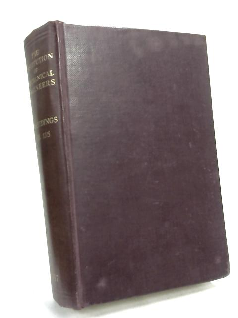 The Institution of Mechanical Engineers Proceedings Vol.135 1937 January - May by Unknown