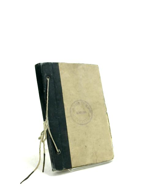 Royal Engineers Reconnaissance Pocket Book 1944. Restricted. by Anon