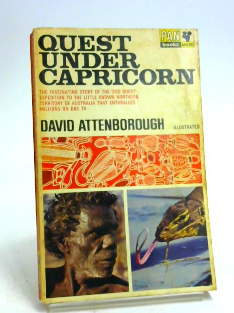 Quest under Capricorn by Attenborough, David