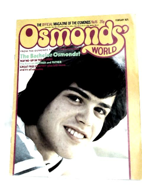 Osmonds world February 1975 By Anonymous