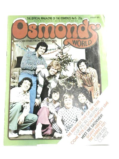 Osmonds world January 1975 by Anonymous