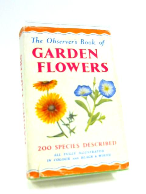 Observer's Book of Garden Flowers (Observer's Pocket) by Arthur King