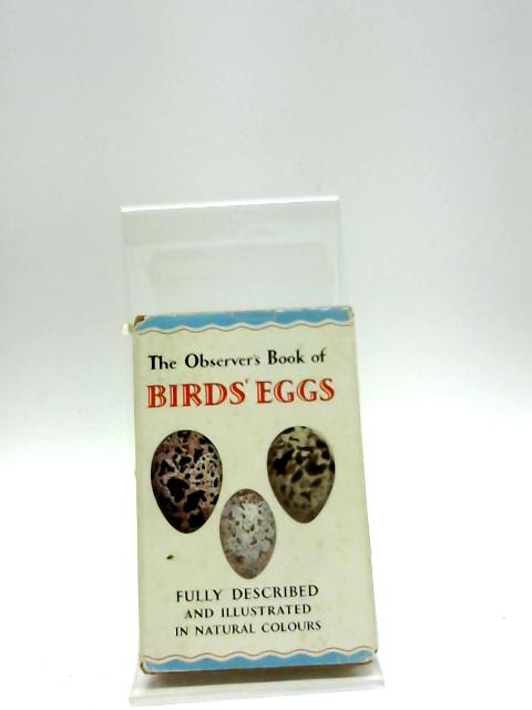 The Observer's Book of Birds' Eggs by Evans, G. (Compiled)
