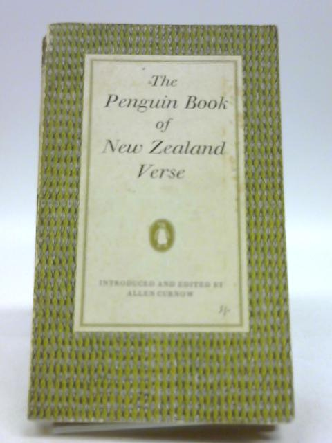 The Penguin Book of New Zealand Verse by Curnow, Allen
