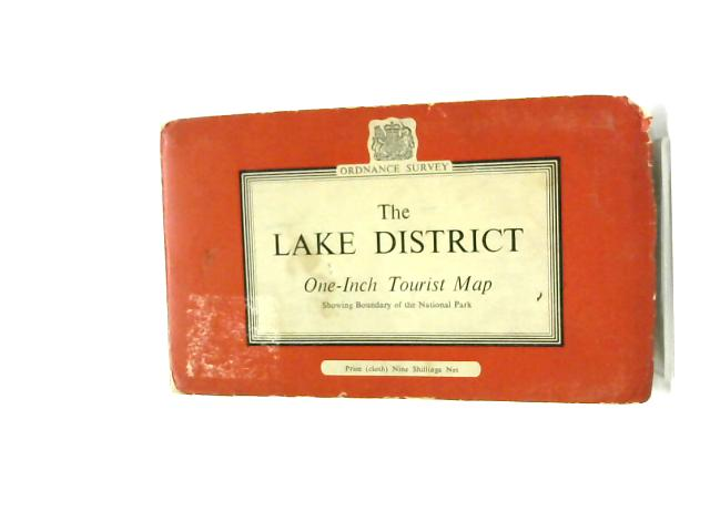 The Lake District: One-Inch Tourist Map, Showing Boundary of the National Park by Ordnance Survey