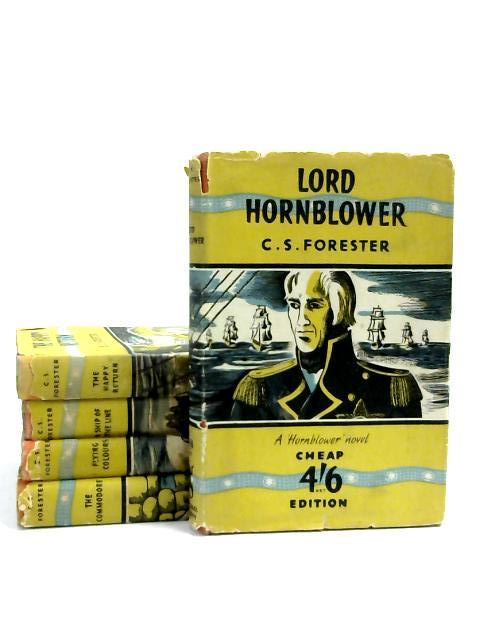 Set of 5 Vintage C.S Forester Books by C.S. Forester