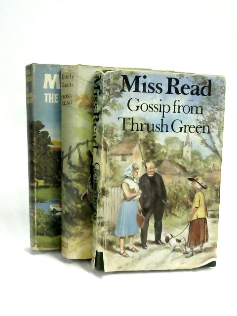 Set of 3 Miss Read novels Vintage Hardbacks by Miss Read
