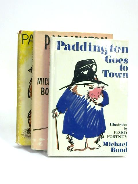 Set of 3 Paddington Books Vintage Hardbacks by Michael Bond