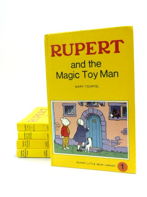 Set of 5 Rupert Books Vintage Hardbacks by Mary Tourtel