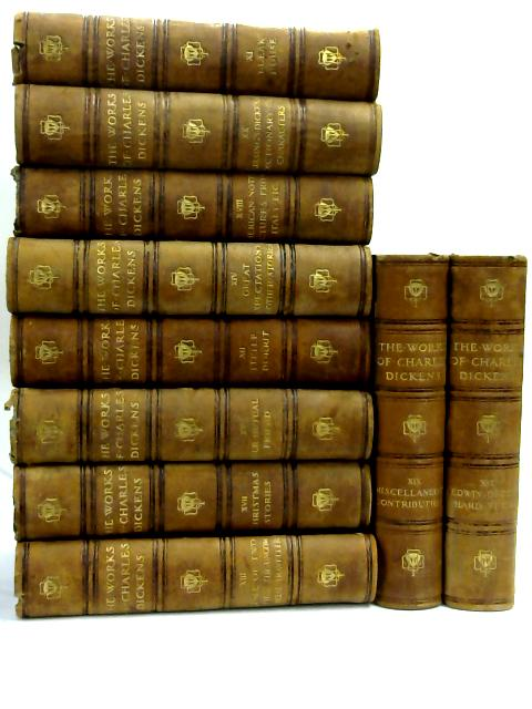 Set of 10 Dicken's novels- vol 10-20 Vintage Hardbacks by Charles Dickens,