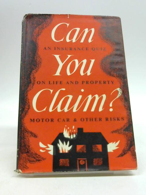 Can you claim? (Chartwell books)) by Yaxley, John