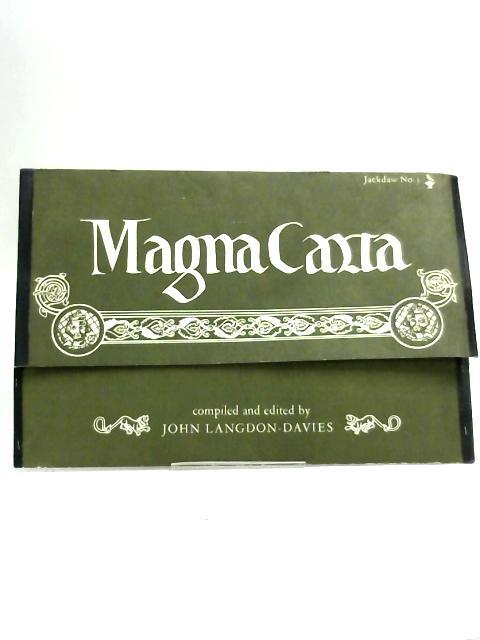 Magna Carta - Jackdaw No 3 by Compiled by John Langdon-Davies