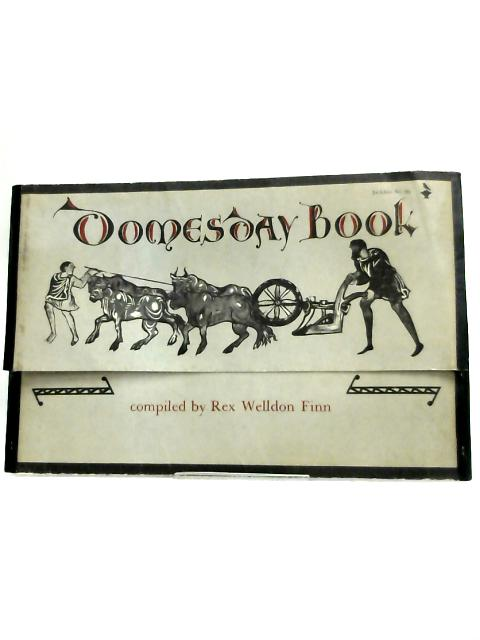 Domesday Book: A collection of contemporary documents by Rex Welldon Finn,