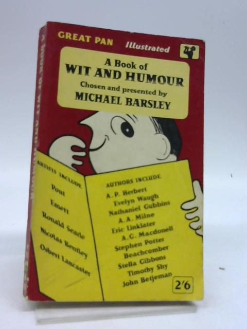 A Book of Wit and Humour by Barsley, Michael